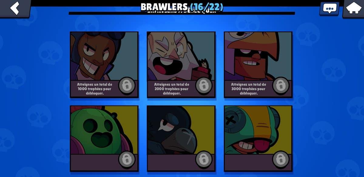 debloquer brawlers brawl stars